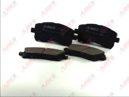 Гальмівні колодки, дискові ABE арт. C17011ABE