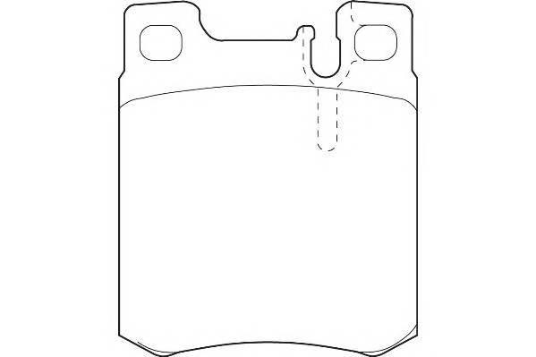 Тормозные колодки Тормозные колодки Wagner PAGID арт. WBP21305A