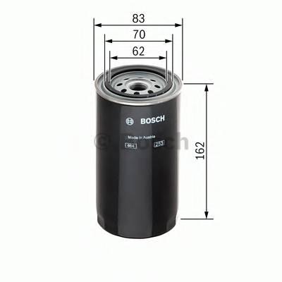 Топливные фильтры Топливный фильтр BOSCH арт. F026402002