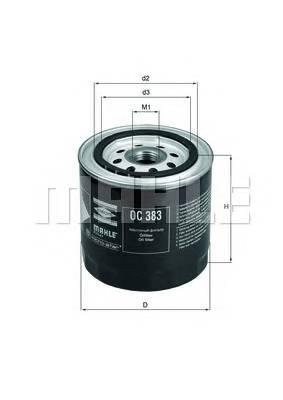Масляные фильтры Фільтр масляний KNECHT арт. OC383
