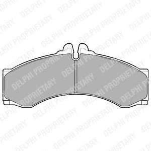 Гальмівні колодки, дискові PAGID арт. LP1046