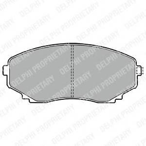 Гальмівні колодки, дискові ABE арт. LP1095