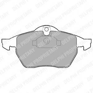 Гальмівні колодки, дискові PAGID арт. LP1600