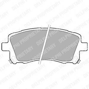 Гальмівні колодки, дискові ABE арт. LP1663