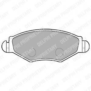 Гальмівні колодки, дискові ABE арт. LP1699