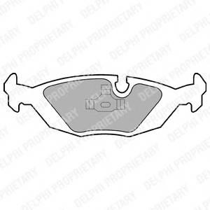 Гальмівні колодки, дискові PAGID арт. LP576