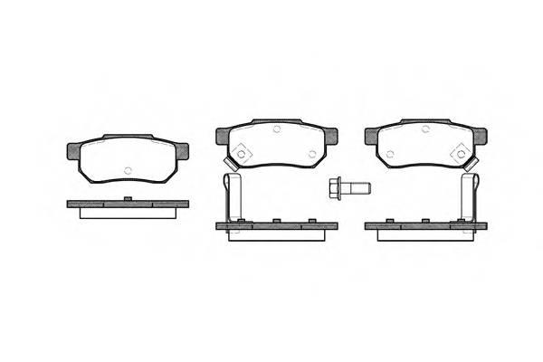 Тормозная система Гальмiвнi колодки, к-кт. PAGID арт. 223302