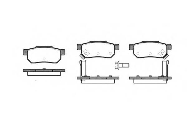 Тормозная система Гальмiвнi колодки, к-кт. PAGID арт. 223312