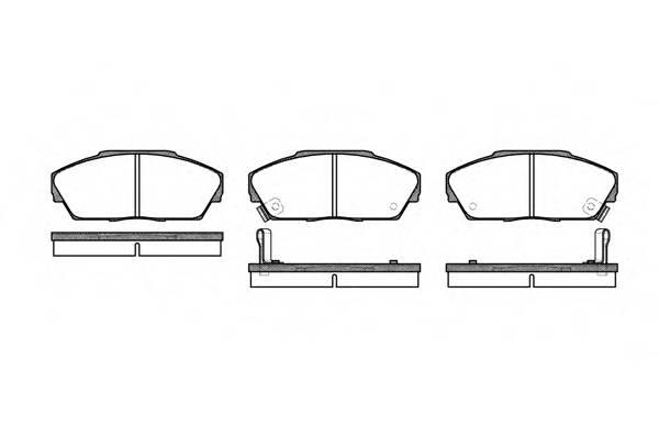 Тормозная система Гальмiвнi колодки, к-кт. PAGID арт. 223702