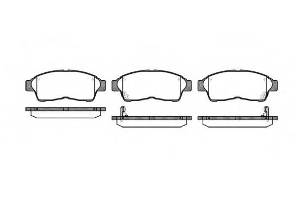 Тормозная система Гальмiвнi колодки, к-кт. ABE арт. 240202