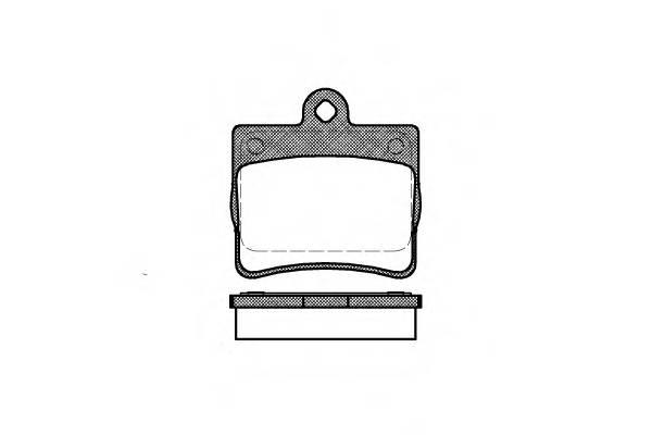 Тормозная система Гальмiвнi колодки, к-кт. PAGID арт. 263000