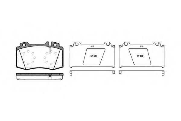 Тормозная система Гальмiвнi колодки, к-кт. PAGID арт. 276900