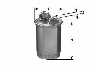 LT 2.5-2.8TDI 96>06 (с клапаном) CLEANFILTERS DN993T