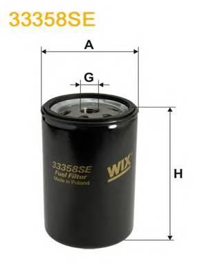 Фильтр топливный (PP 845/2) BOSCH арт. 33358SE