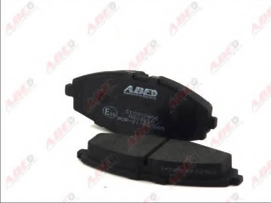 Гальмівні колодки, дискові ABE арт. C10007ABE
