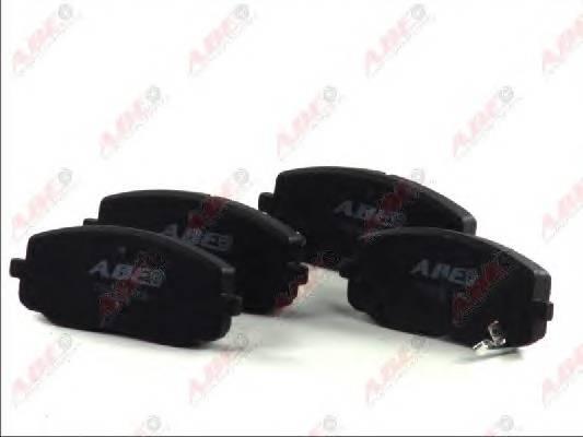 Гальмівні колодки, дискові ABE арт. C10320ABE