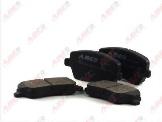 Гальмівні колодки, дискові ABE арт. C11077ABE