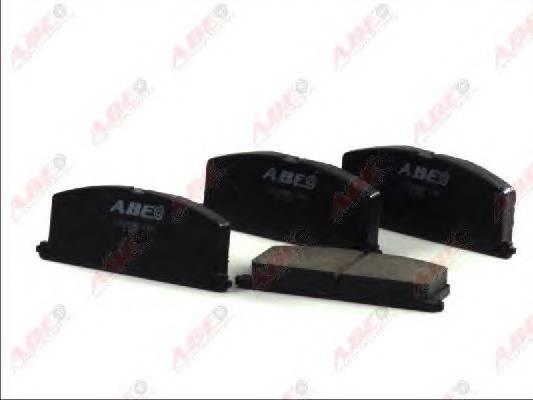 Гальмівні колодки, дискові ABE арт. C12035ABE
