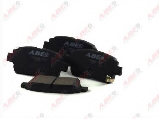Гальмівні колодки, дискові ABE арт. C12086ABE