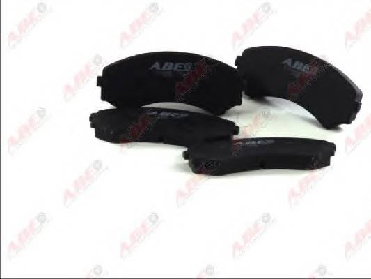 Гальмівні колодки, дискові ABE арт. C13044ABE