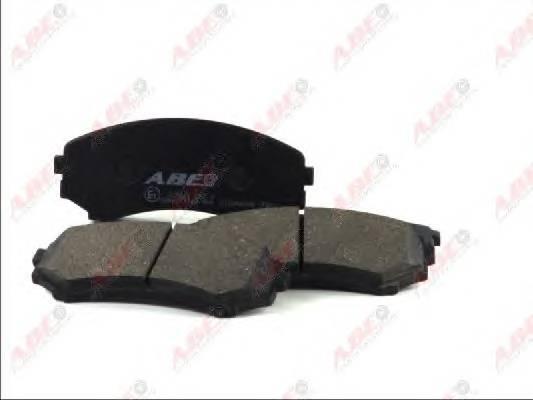 Гальмівні колодки, дискові ABE арт. C15040ABE