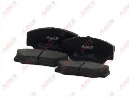 Гальмівні колодки, дискові ABE арт. C1G022ABE