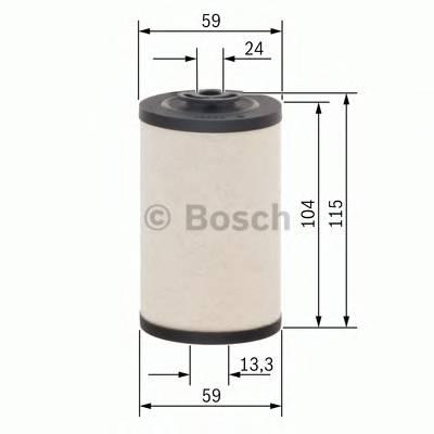 Топливные фильтры Топливный фильтр диз BOSCH арт. 1457431158
