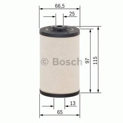Топливные фильтры Топливный фильтр диз BOSCH арт. 1457431325