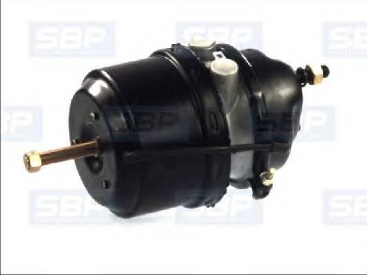 Тормозной цилиндр с пружинным энергоаккумулятором SBP 05BCT1624G05