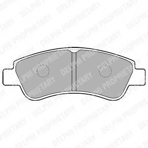 Гальмівні колодки, дискові PAGID арт. LP1727