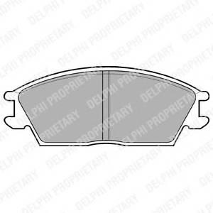 Гальмівні колодки, дискові ABE арт. LP704