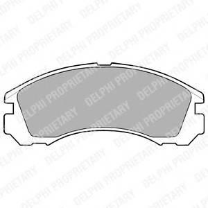 Гальмівні колодки, дискові ABE арт. LP871