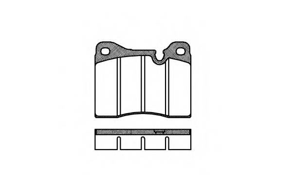 Тормозная система Гальмiвнi колодки, к-кт. PAGID арт. 201120
