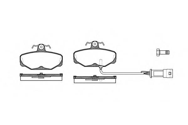 Тормозная система Гальмiвнi колодки, к-кт. PAGID арт. 220502