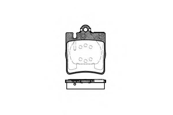 Тормозная система Гальмiвнi колодки, к-кт. PAGID арт. 270900