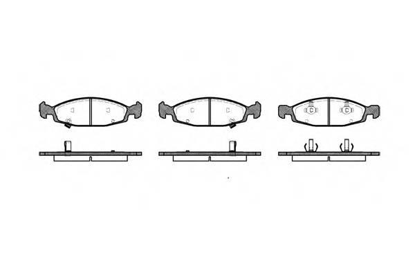 Тормозная система Гальмiвнi колодки, к-кт. PAGID арт. 273602