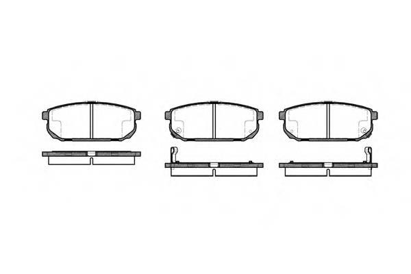 Тормозная система Гальмiвнi колодки, к-кт. PAGID арт. 2104202