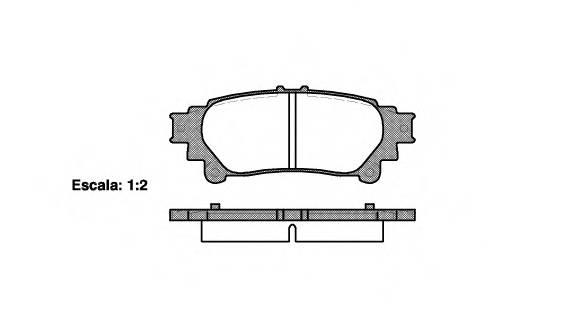 Тормозная система Гальмiвнi колодки, к-кт. PAGID арт. 2139500