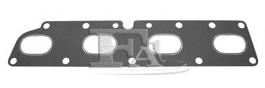 Прокладка выпускного коллектора Opel 2.0 16V FA1 412017