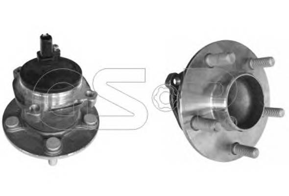 ступица задняя abs ford focus iic-max GSP 9400084