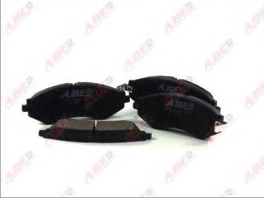Гальмівні колодки, дискові ABE арт. C10014ABE