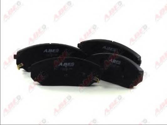 Гальмівні колодки, дискові ABE арт. C10317ABE