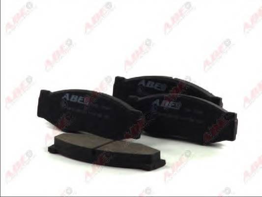 Гальмівні колодки, дискові ABE арт. C11011ABE