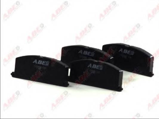 Гальмівні колодки, дискові PAGID арт. C12035ABE