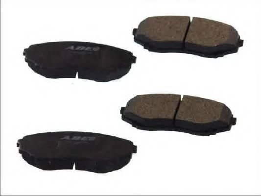 Гальмівні колодки, дискові ABE арт. C13061ABE