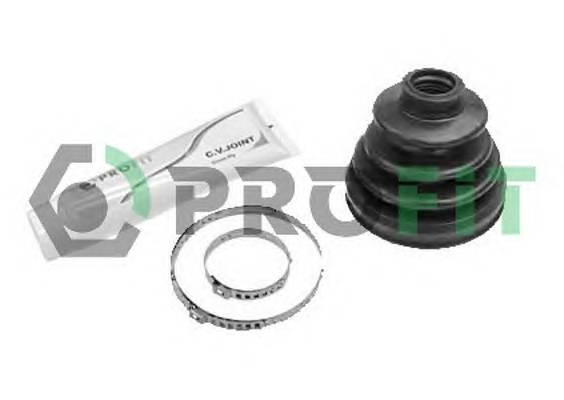 Пильник ШРУС гумовий  змазка PROFIT 27101052XLB