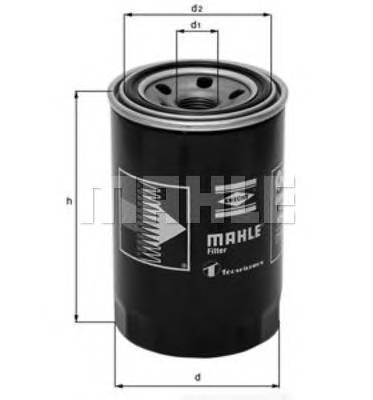 Масляные фильтры Фільтр масляний KNECHT арт. OC218