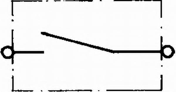 Выключатель аккумуляторной батареи HELLA 6EK002843001