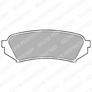 Гальмівні колодки, дискові PAGID арт. LP1438