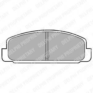 Гальмівні колодки, дискові PAGID арт. LP401